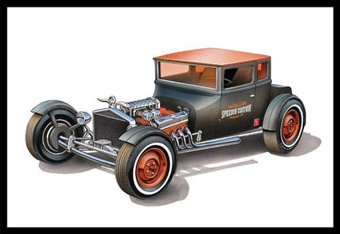 AMT Model Cars 1/25 1925 Ford T Chopped Coupe Kit