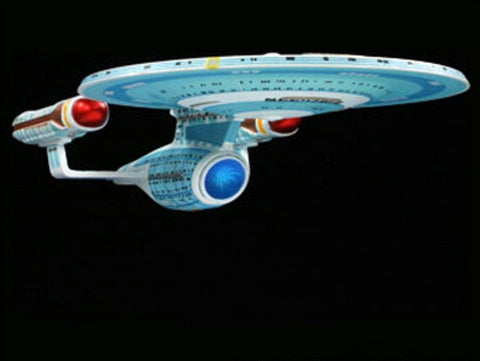 AMT Sci-Fi Models 1/2500 Star Trek USS Enterprise NCC1701C Snap Kit