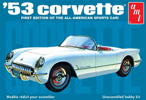 AMT Model Cars 1/25 1953 Chevy Corvette Car Kit