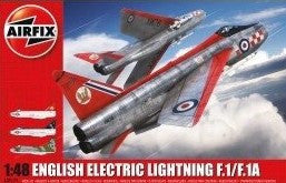 Airfix Aircraft 1/48 EE Lightning F1/F1A/F2/F3 Interceptor Kit