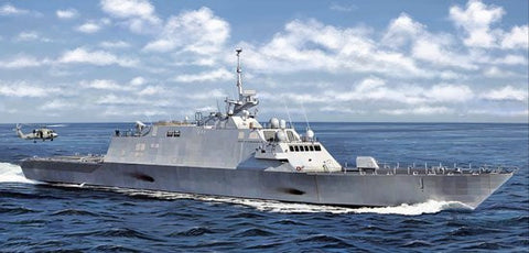 Cyber-Hobby Ships 1/350 USS Freedom LCS1 Littoral Combat Ship Kit