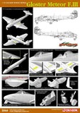 Cyber-Hobby Aircraft 1/72 Gloster Meteor F3 Fighter Kit