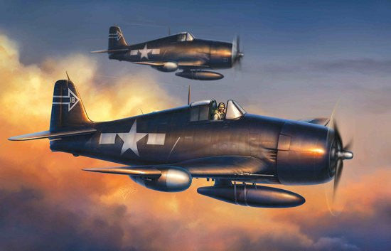 Cyber-Hobby Aircraft 1/72 F6F5N Hellcat Night Fighter Kit