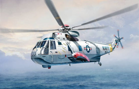 Cyber-Hobby Aircraft 1/72 Sea King SH3D USN Helicopter Kit