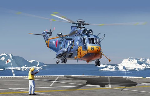 Cyber-Hobby Aircraft 1/72 S61A Sea King Antarctica Observation Helicopter kIT
