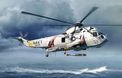 Cyber-Hobby Aircraft 1/72 Sea King SH3H Sub-Hunter Helicopter Kit