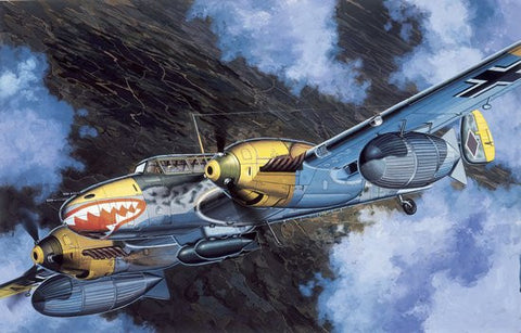 Cyber-Hobby Aircraft 1/48 Messerschmitt Bf110D3 Heavy Fighter Bomber Kit