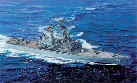 Cyber-Hobby Ships 1/700 USS Virginia CGN38 Nuclear Guided Missile Cruiser Smart Kit