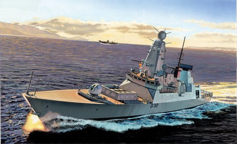 Cyber-Hobby Ships 1/700 HMS Daring Type 45 Destroyer Kit