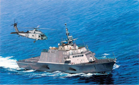 Cyber-Hobby Ships 1/700 USS Freedom LCS1 Littoral Combat Ship Smart Kit