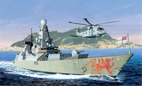 Cyber-Hobby Ships 1/700 HMS Dragon Type 45 Batch 2 Destroyer Kit