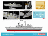 Cyber-Hobby Ships 1/700 HMS Invincible Light Aircraft Carrier 30th Anniv Falklands War Kit