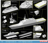 Cyber-Hobby Ships 1/700 USS Fort Worth LCS3 Littoral Combat Ship Smart Kit