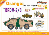 Cyber-Hobby Military 1/35 BRDM2/3 Amphibious Armored Vehicle w/Soviet Crew (2 in 1) Kit