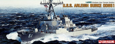 Dragon Model Ships 1/350 USS Arleigh Burke DDG51 Destroyer (Re-Issue) Kit
