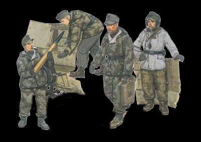 Dragon Military 1/35 German Self-Propelled Gun Crew (4) Kit