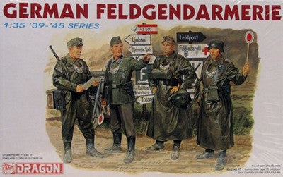 Dragon Military 1/35 German Feldgendarmerie Soldiers (4) Kit