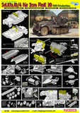 Dragon Military 1/35 SdKfz 10/4 1939 Prod Halftrack w/2cm Flak 30 Gun Kit
