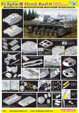 Dragon Military 1/35 PzKpfw III (5cm) Ausf H SdKfz 141 Early Tank Smart Kit