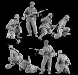Dragon Military 1/35 German Blue Div Spanish Volunteers Eastern Front 1942-43 (4) Kit
