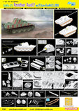 Dragon Military 1/35 SdKfz 171 Panther Ausf F Tank w/7.5cm KwK42 L/100 Gun Kit