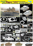 "Dragon Military 1/35 Tiger I ""131"" s.Pz.Abt.504 Tunisia (Reissue) Smart Kit"