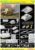 Dragon Military 1/35 PzKpfw IV Tank w/Panther F Turret Kit