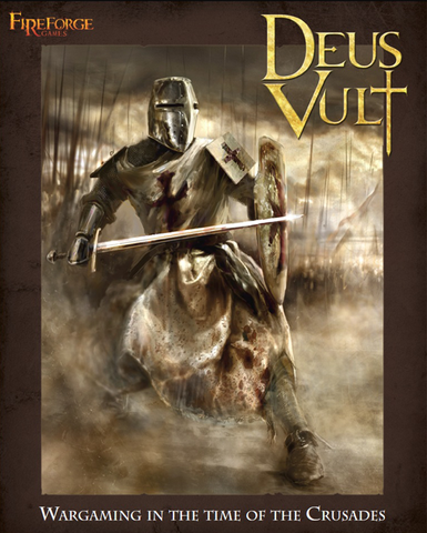 Fireforge Games Deus Vult Wargaming Rulebook (Hardcover Book)