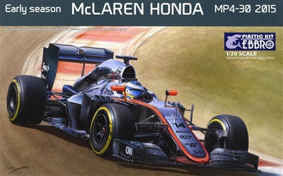 Ebbro Model Cars 1/20 2015 McLaren Honda MP4-30 F1 Early Season Race Car Kit