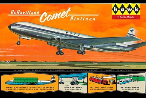 Lindberg Model Aircraft 1/144 DeHavilland Comet British Airliner Kit