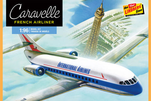 Lindberg Model Aircraft 1/96 Caravelle French Airliner Kit
