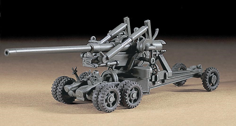 Hasegawa Military 1/72 M2 155mm Gun Long Tom Kit