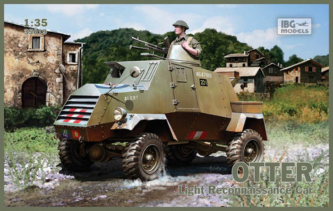 IBG Models Clearance Sale 1/35 Otter Light Recon Car Kit