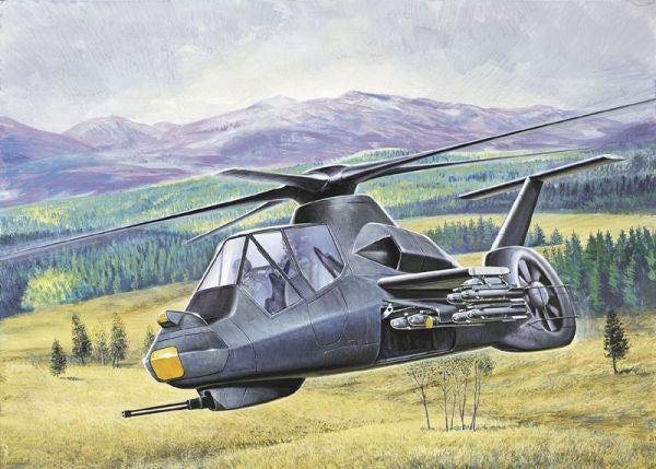 Italeri Aircraft 1/72 RAH66 Helicopter Kit