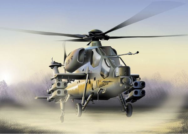 Italeri Aircraft 1/72 A129 Mangusta Helicopter Kit