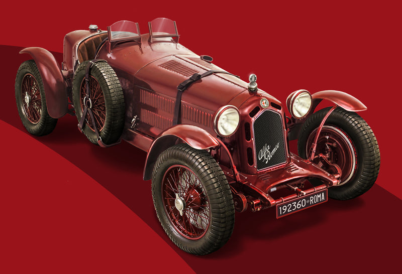 Italeri Model Cars 1/12 Alfa Romeo 8C 2300 1931-33 110th Anniversary Race Car Kit
