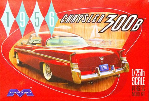 Moebius Model Cars 1/25 1956 Chrysler 300B Car Kit