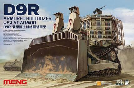 Meng Military Models 1/35 Caterpillar D9R Armored Bull-Dozer Kit