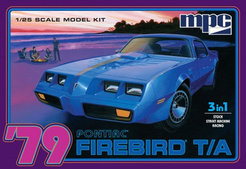 MPC Model Cars 1/25 1979 Pontiac Firebird Trans Am Kit