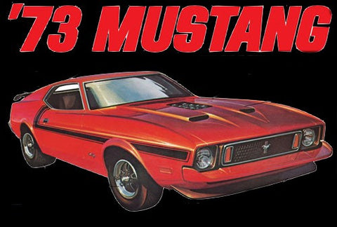 MPC Model Cars 1/25 1973 Ford Mustang Kit
