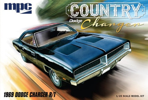 MPC Model Cars 1/25 1969 Dodge Country Charger R/T Car Kit