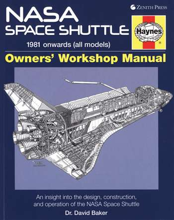 Motor Books NASA Space Shuttle 1981 Onwards Owners Workshop Manual