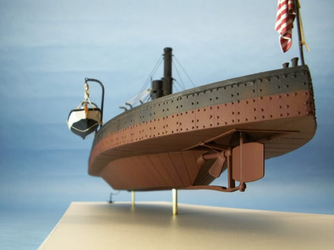 Cottage Industry Models 96008 1:96 USS Monitor John Ericssion/'s Cheesebox on a