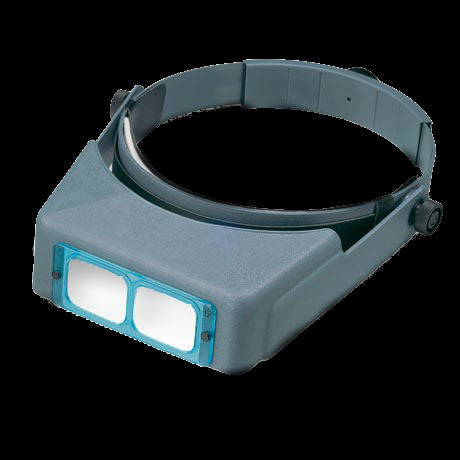 Donegan OptiVisor LX Binocular Headband Magnifier w/Acrylic Lens Plate 3 1.75x Power at 14""