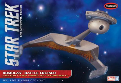 Polar Lights Clearance Sale Star Trek Romulan Battle Cruiser Kit