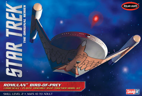 Polar Lights Sci-Fi 1/1000 Star Trek Romulan Bird of Prey Snap Kit