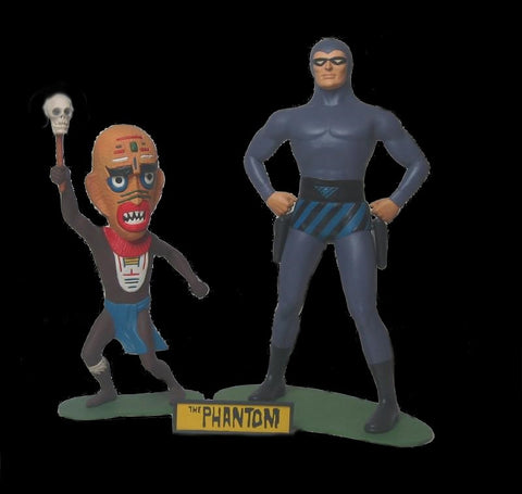 Atlantis Models 1/8 The Phantom & The Voodoo Witch Doctor Limited Edition Kit