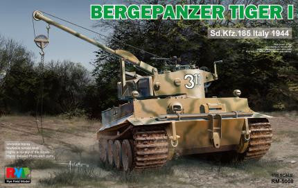 Rye Field 1/35 German Bergepanzer Tiger I Sd.Kfz.185 Kit