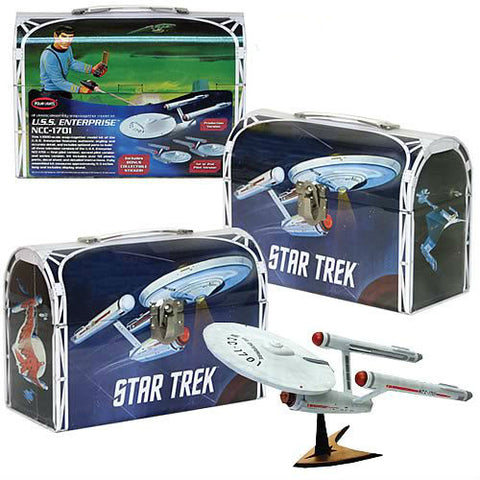 Polar Lights Clearance Sale Star Trek The Original Series Enterprise Lunchbox Tin Kit