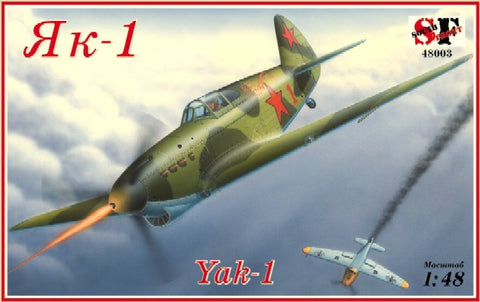 South Front 1/48 Yak1 WWII Soviet Fighter Kit